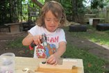 Big bang! Small hands… big ideas! Creative woodwork in early childhood