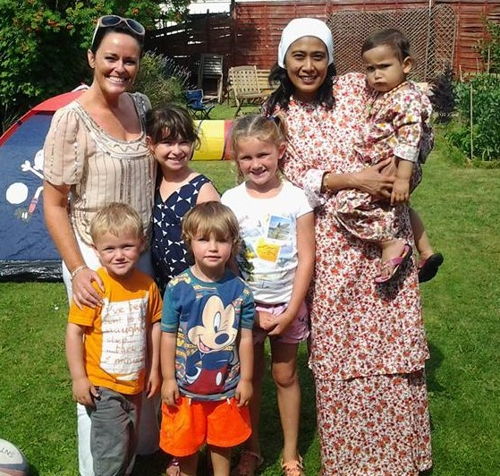 Eid garden party at the child's own home