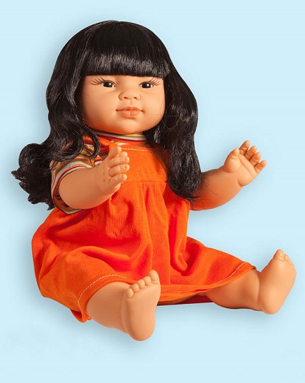 East Asian Girl Vinyl Doll