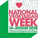 Love food? Then you're going to love National Vegetarian Week 2018!