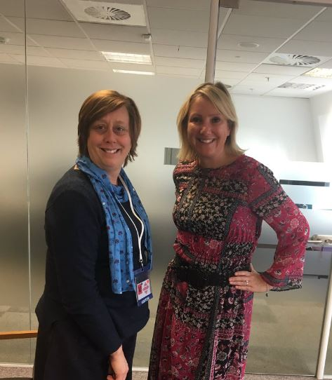 PACEY meets with Caroline Dinenage MP