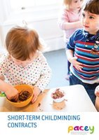 Short-term registered childminding contracts