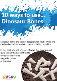 Dinosaur Bones Activity Pack