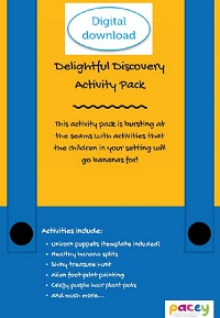 Delightful Discovery activity pack
