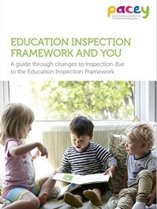 New PACEY e-book Education Inspection Framework and You now available