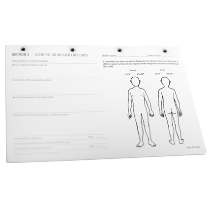 accident forms body diagrams pacey. Black Bedroom Furniture Sets. Home Design Ideas