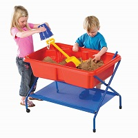 Red Rockface Sand & Water Table