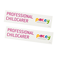 PACEY car/window stickers