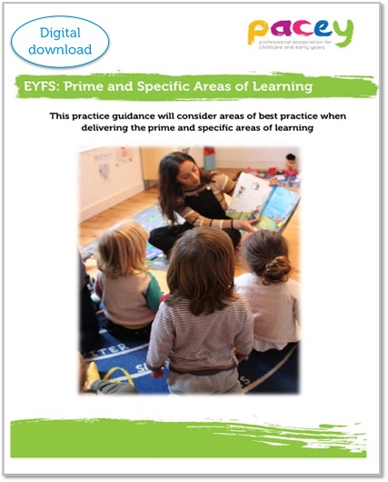EYFS - prime and specific areas of learning practice guide