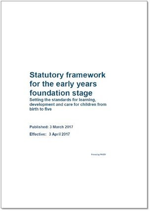EYFS 2017 Statutory Framework Document