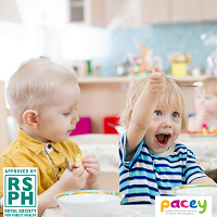 Food safety and hygiene for early years settings e-learning course and food allergen stickers bundle
