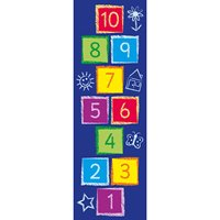 Hopscotch activity carpet
