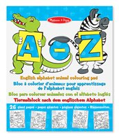 A-Z Colouring Pad
