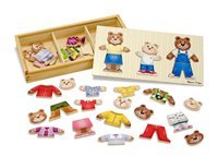 Wooden Bear Family Puzzle