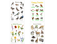 Great Outdoors Posters (Set of 4)