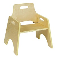 Pre School Chair 15cm 2 pack