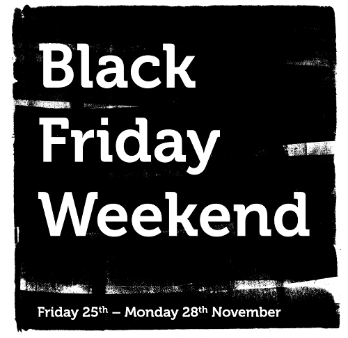 Watch out for our Black Friday deals