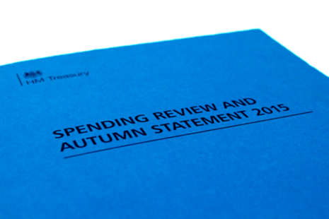 Spending and funding review details announced