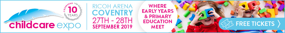 Get your tickets for Childcare Expo 2019