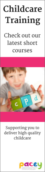Childcare training from PACEY