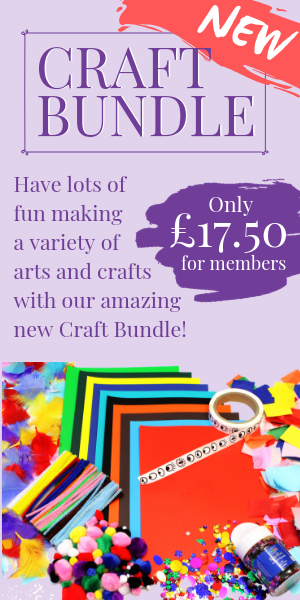 Buy a craft bundle from PACEY and create crafts all day long