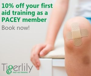 first aid training for PACEY members