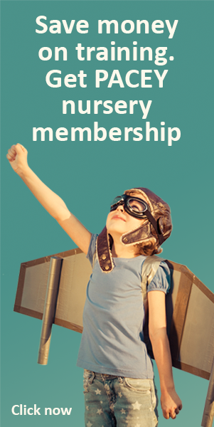 Nursery membership from PACEY