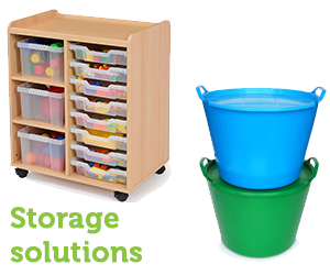 Storage and shelving for your childcare setting