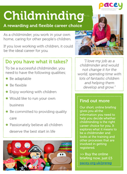 5 reasons to work in childcare | PACEY