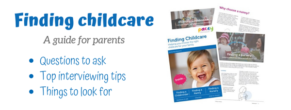 Finding childcare - a guide for parents